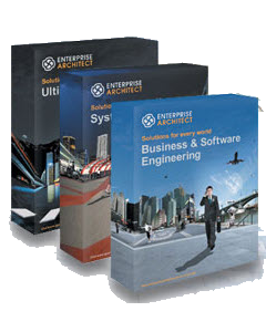 Enterprise Architect for Corporate, Professional, Desktop, Engineering, Ultimate, 模型設計